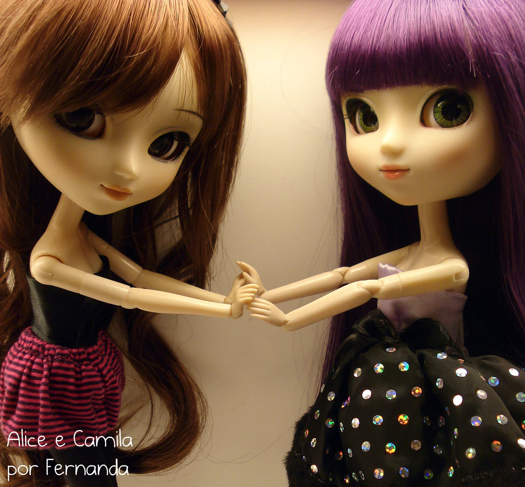 Alice e Camila - Pullips Kaela Xiao Fan