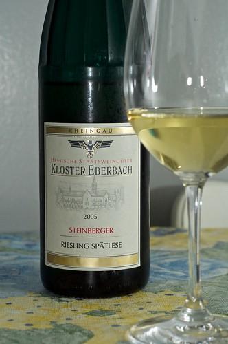 2005 Kloster Eberbach Riesling Spätlese