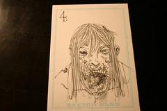Zombie card 4 inks