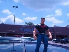 superboy goes to kroger