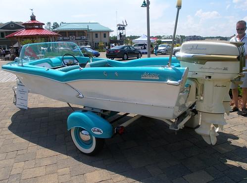 Vintage Fiberglass Boat 83