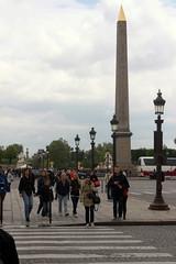 Auf der Champs Elysees Richtung Place de la Concorde, Paris