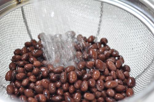 black beans rinse
