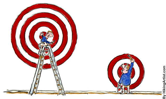 Defining targets differently by HikingArtist.com, on Flickr