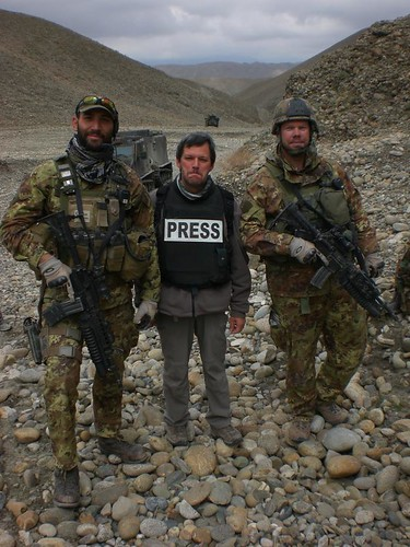 Fausto Biloslavo in Afghanistan