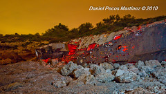 Barco reflotado (Daniel Pecos Martnez) Tags: espaa esp cataluna lametllademar enfocaskdd20100703