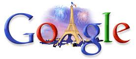 Google Bastille Day 2007