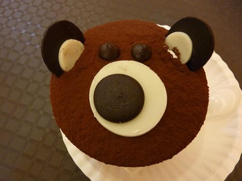 85度c的熊熊蛋糕