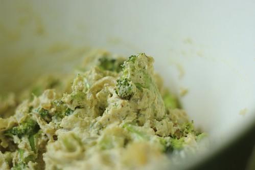 Broccoli and Caramelized Onion Vegan Quiche