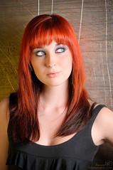 Audrey (benoitchampagnephoto) Tags: ca canada montral qubec physique montral qubec yeuxclairs grandsyeuxronds yeuxvertsbleu