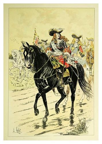 016-Un mariscal de Francia en 1712-Le chic à cheval histoire pittoresque de l'équitation 1891- Louis Vallet