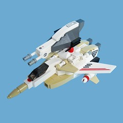 Maikuro Fighter 16 (Fredoichi) Tags: fighter lego space military micro shooter macross shootemup starfighter shmup microscale fredoichi