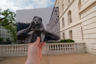 Looking Into the Past: Congressional Hog Calling, Cannon House Office Building, Washington, DC