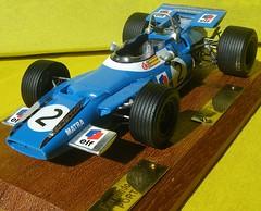 Matra MS80 1969 F1 Jackie Stewart Fernando Pin...