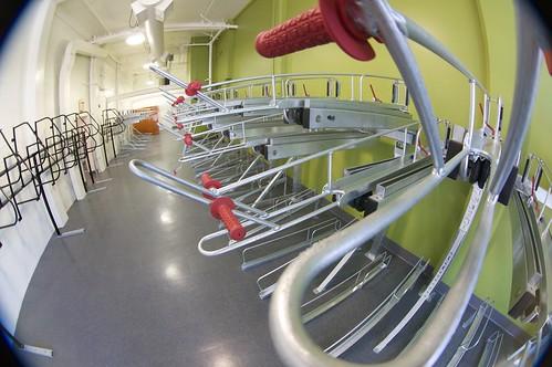 Dero Racks At New Berkeley Bike Station Dero Bike Racks