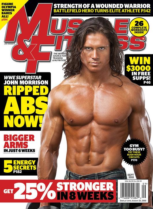 John Morrison en la revista Muscle & Fitness