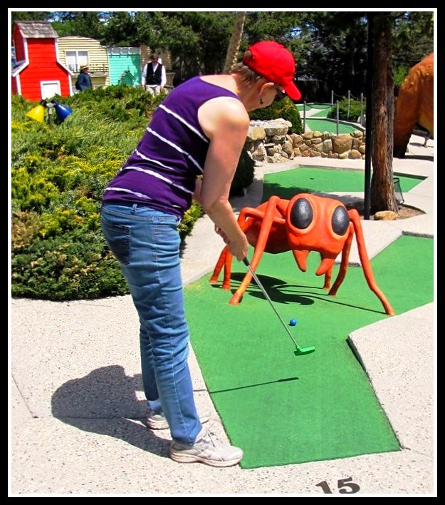 Miniature Golf Family Fun