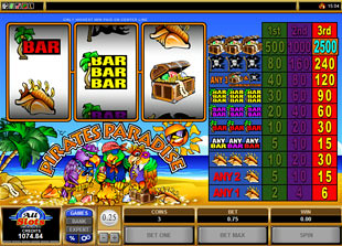 Pirate's Paradise slot game online review