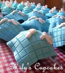 Welcome Lucio!! (Mily'sCupcakes) Tags: baby shower cupcakes milys