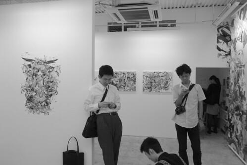 """artists (at Kazuki UMEZAWA """"Beautiful Image Core"""")"""