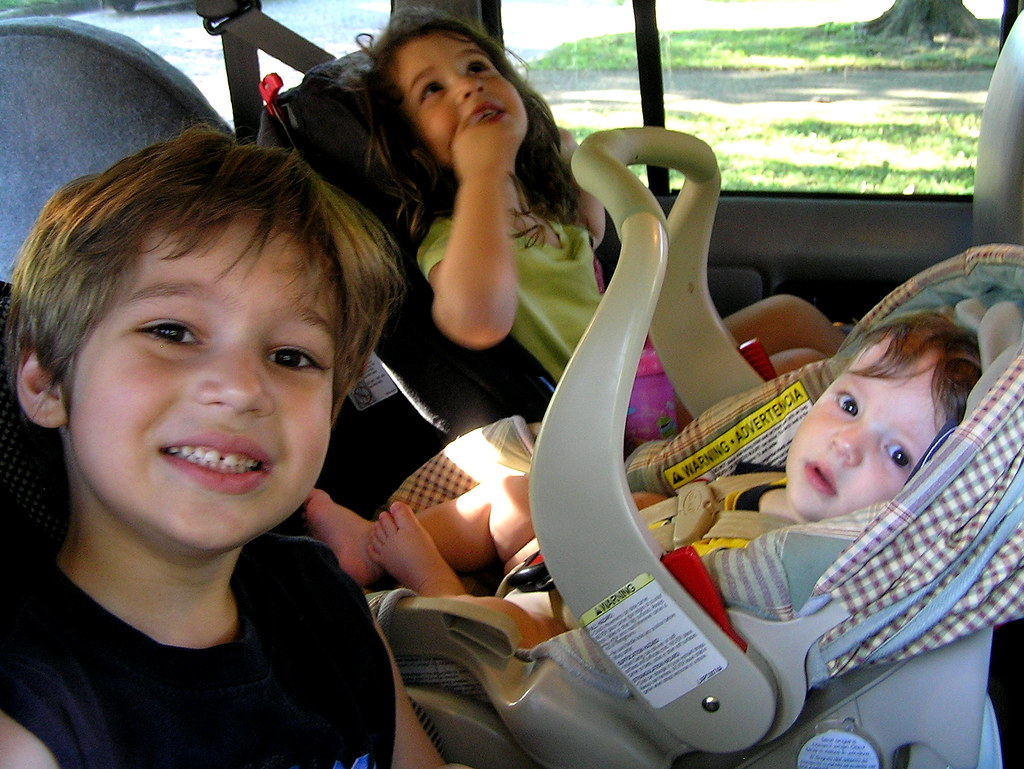 backseat trio
