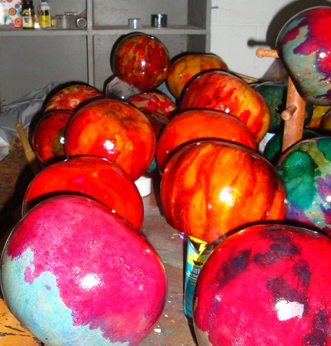Gourds in Progress