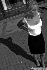 Shadow (Just a guy who likes to take pictures) Tags: city shadow summer portrait urban bw en woman white black holland sexy netherlands girl monochrome dutch face fashion female photography photo und high model rotterdam europa europe shoot foto fotografie photographie dress photoshoot feminine sommer south nederland thenetherlands skirt portrt zomer heels holanda shooting nl frau portret mode schaduw zwart wit weiss paysbas modell schwarz vrouw metropol stad zuid niederlande zw the zuidholland gezicht fotoshoot weis