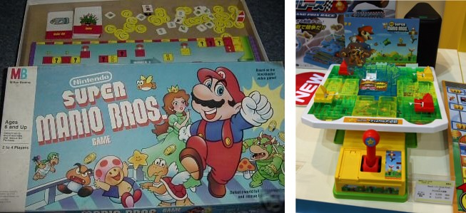 Super Mario Bros juegos de mesa