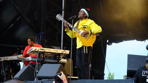 Jimmy Cliff at Ottawa Bluesfest 2010