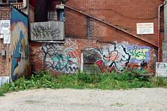 DSC_5160 v2 (collations) Tags: toronto ontario graffiti documentary tags tagging laneways alleys lanes alleyways graffitiwalls