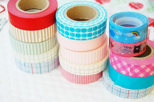 Wash tape