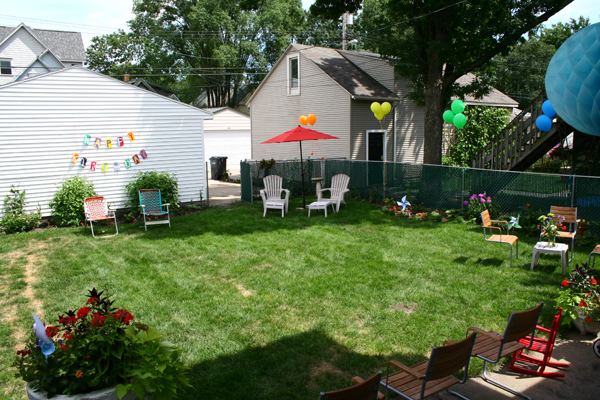 Birthday Backyard