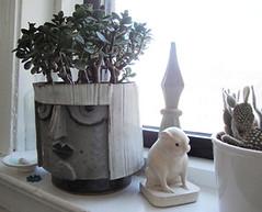 finished_planter_with_jadex (Loosetooth.com) Tags: ceramics pot clay planter stoneware handbuilt handbuilding