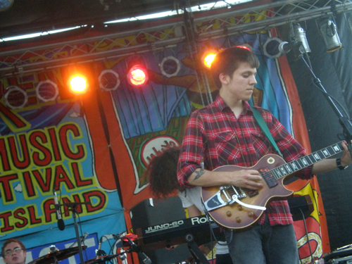 Surfer Blood at the 10th Annual Village Voice Siren Music Festival, July 17, 2010