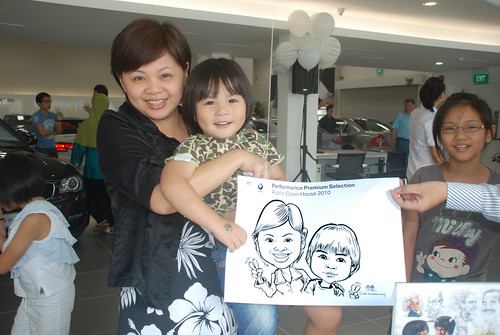 Caricature live sketching for Performance Premium Selection BMW - Day 3 - 14