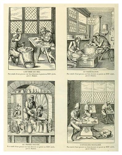 018-Estampas oficios en la Edad Media-Le moyen äge et la renaissance…Vol III-1848- Paul Lacroix y Ferdinand Séré