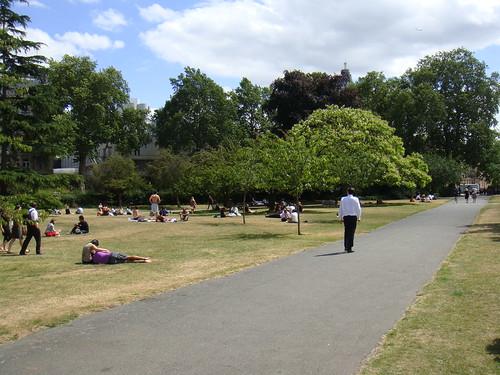 Picnic y otros en Regent´s Park