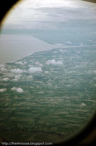 TG 0414 - Chao Phraya River Mouth, Bangkok