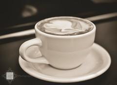がっくり (r.e. ~) Tags: food art coffee café losangeles nikon latte cappuccino barista d5000