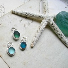 Seaglass Charms