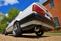 BMW 325i Turbo (mschroeter140) Tags: car racecar sedan downtown racing turbo killer porsche bmw hr m3 rim hid 325i arp kn 28l e30 sleeper hella dunlop mls konig m20 nordschleife stroker 335i worldcars cometic worldmachineshdr