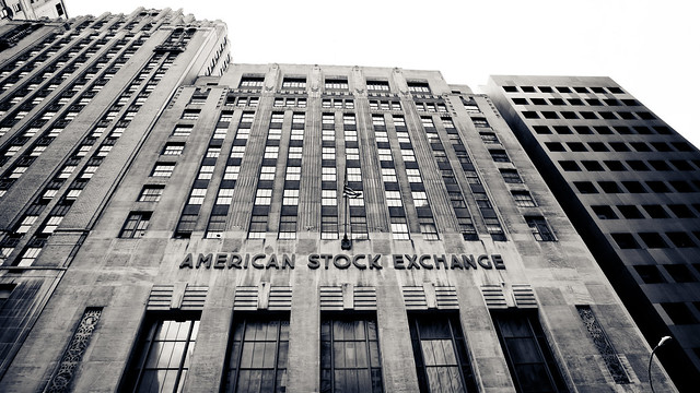 American Stock Exchange [EOS 5DMK2 | EF 17-40L@17mm | 1/200 s | f/7.1 | ISO200]