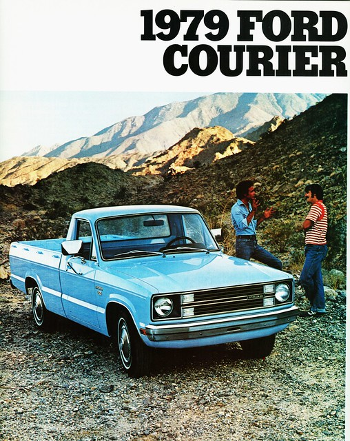 ford truck pickup courier brochure 1979