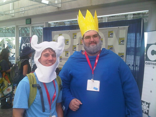 Adventure Time at Comic-Con