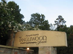 Tanglewood Park sign Photo