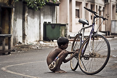 Turning Point (Arun Titan) Tags: poverty india canon children photography photo child photos cycle chennai tamilnadu arun southindia suffer cwc parryscorner parrys arunkumar arunr povertyinindia 1000d chennaiweekendclickers arun4884 aruntitan