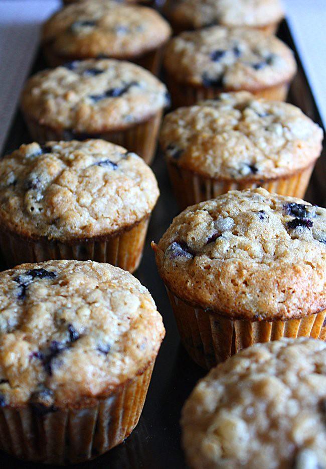 Muffins aux Bleuets Faible en Gras - 1073-1-650