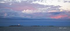 _MG_1980 (May Elin Aunli) Tags: sunset sea lighthouse norway norge fyr havet solnedgang arendal skagerak lilletorungen torungen sjøen mayelin storetorungen aunli mayelincom aunlicom theseatorungen