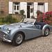 Triumph TR3 a de 1960 de Jean-Luc et Anne