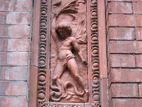 Detail - Terra Cotta Panel, 23 Leroy Street